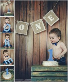 Happy First Birthday! This is a great picture idea!!!