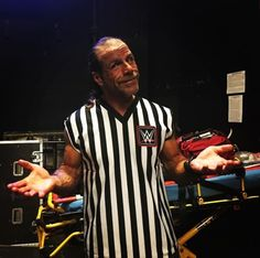 wwe Anything can happen when Shawn Michaels is the special guest referee! takes on in NEXT! Wwe Shawn Michaels, Referee, Special Guest, Wrestling, Shit Happens, Sports, Mens Tops, Entertainment, Lucha Libre