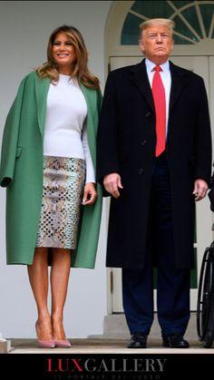 Ivanka Trump, Milania Trump Style, Donald And Melania, Trump Is My President, First Lady Melania Trump, Business Fashion, Office Fashion, Celebrity Style, Autumn Fashion