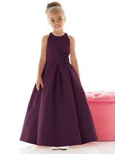 Flower Girl Dress FL4022 http://www.dessy.com/dresses/flowergirl/fl4022/?color=platinum&colorid=64#.UuPzfSvn_xA
