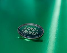 Cool Land Rover Oval shaped Pin Badge by WeeHings on Etsy