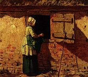 "New artwork for sale! - "" Mauve Anton A Peasant Woman By A Barn by Anton Mauve "" - http://ift.tt/2p8s9qk"