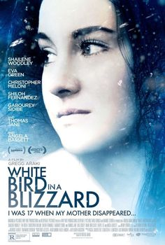 White Bird in a Blizzard by Laura Kasischke hits theatres on October 24th.