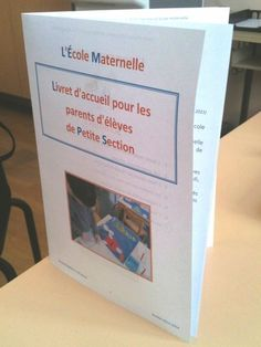 livret accueil maternelle Ac Paris, School Classroom, Classroom Management, Toddler Activities, Positivity, Teaching, Education, Ps, Nouveaux Parents
