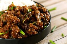 This Mongolian Beef recipe is super easy to make and uses simple, readily available ingredients! Whip this up in under 20 mins for the perfect mid-week dinner!