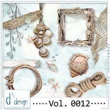 Vol. 0012 - Beach Mix  by Doudou's Design  #CUdigitals cudigitals.com cu commercial digital scrap #digiscrap scrapbook graphics