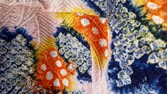 Japanese Textiles, Indigo Dye, Vintage Japanese, Conservation, Fabric Design, Old Things, Colours, Antiques, Antiquities