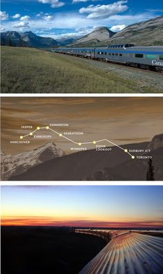 The Canadian, one of Via Rail's affordable Canadian train trips, takes passengers on a scenic, cross-country adventure.