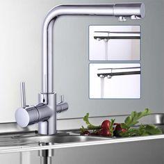 details zu drei wege wasserhahn wasserkran wasserfilter armatur drehbar kche sple faucet - Kohler Armaturen Kche