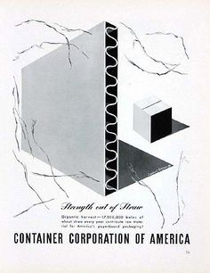 herbert bayer container corporation of america - Google Search