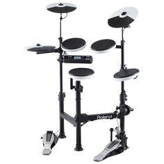 Roland TD-4KP V-Drums Portable Electronic Drum Kit w/DRUM-SC01 drum bag