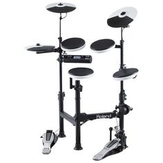 Roland TD-4KP V-Drums Portable Electronic Drum Kit w/DRUM-SC01 drum bag