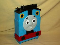 THOMAS TANK CASE CARRY PLAY TRAVEL STORAGE ATTACHED TRACK GATE LOOSE MATTEL 2009 #Mattel