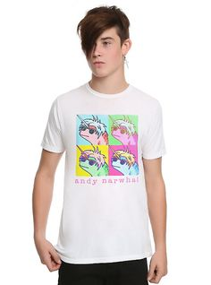 6e9ce501c5c7a Andy Narwhal Pop Art T-Shirt