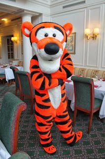 #Disneyland Paris. Tigger in the Inventions Restaurant at the Disneyland Hotel #DLP #DLRP #Disney
