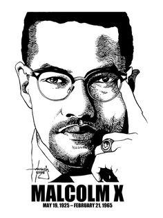 Malcolm X: nacido en Nebraska, USA; fue orador, ministro religioso y activista. Muy discutido tanto por los blancos a los que combatía como pòr los negros a quien decían defender. Estando en la cárcel, se convirtió al Islam.