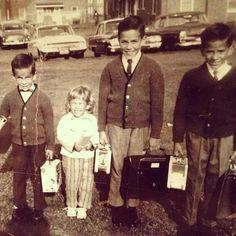 The Porcaro kids growing up