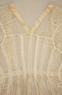 Dress 1795-1805, British | Cotton | Metropolitan Museum