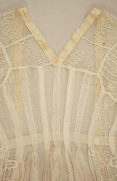 Dress 1795-1805, British | Cotton | Metropolitan Museum