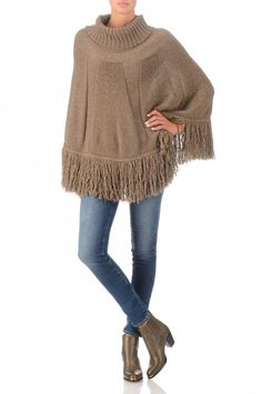 Time for a lovely soft Poncho ...also in L.Grey @ Le Marais Maastricht.