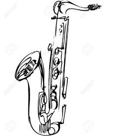 Image issue du site Web http://previews.123rf.com/images/zirka/zirka1111/zirka111100044/11119041-a-sketch-brass-alto-saxophone-musical-instrument-Stock-Vector.jpg