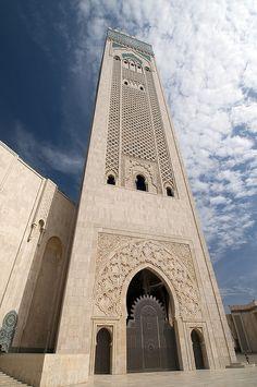 King Hassan II Mosque, Morocco         مسجد الملك الحسن الثاني بالمغرب !!               وأن المساجد لله فلا تدعو مع الله أحدا ،،،،