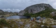 A Cluster Of Hiking Lodges Has Emerged In The Mountains Of Norway