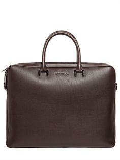 GIVENCHY | LEATHER BRIEFCASE