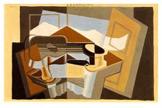 AMAZING CUBISM PAINTINGS | 'Le Canigou', (1921) by Juan Gris  | www.bocadolobo.com #greatartists #artists