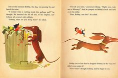 The boy who wouldn't eat his breakfast, 1963, Wonderbooks on pinterest.com
