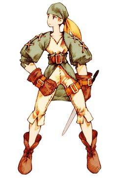 Thief Male from Final Fantasy Tactics