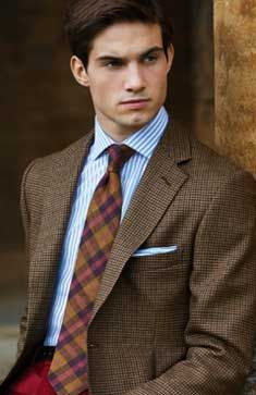 The blend of tweed, plaid and merriment of colors are just Fab.