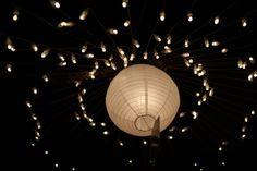 Wedding, Lights Night Celebration White Light Led W Décoration Baby Shower, Night Time Wedding, Paper Lampshade, Diy Wedding Decorations, Decoration Party, Luz Led, Paper Lanterns, Light Art, Home Decor Items