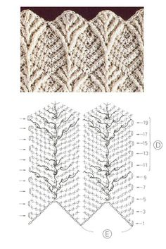 High quality crochet patterns and intricate and pretty crochet products for sale Leaf Stitch Crochet Pattern Leaf Stitch Crochet Pattern - Video is in Spaniish, but illustrations will instruct., Discover thousands of images aboLearning new crochet stitche Crochet Scarf Diagram, Crochet Lace Scarf, Crochet Stitches Patterns, Crochet Chart, Crochet Motif, Knitting Patterns Free, Free Crochet, Stitch Patterns, Free Pattern