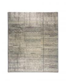 Rug Star. Walking Fields. Net No. 02 GreyLoop. 85% Tibetan highland wool 15% Chinese silk. 250 cm x 300 cm