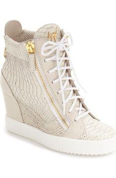 fcb2e7f9ffbe GIUSEPPE ZANOTTI Ofelia Wedge Sneaker (Women).  giuseppezanotti  shoes    Giuseppe Zanotti