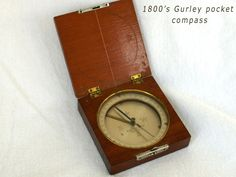 1800's Gurley pocket compass