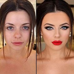 "The Power of Makeup Transformations Will Make You Rethink Your Own Routine: When NikkieTutorials uploaded a vlog titled ""The Power of Makeup"" earlier this year, she kicked off a powerful trend in counteracting makeup shaming."