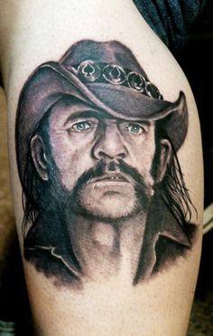 Lemmy - Leonidas Lonis Tattoo