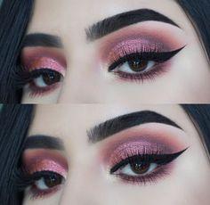 Bold Makeup Looks, Beautiful Eye Makeup, Dramatic Makeup, Makeup Goals, Makeup Tips, Hair Makeup, Just Beauty, Beauty Make Up, Beauty Makeover