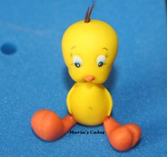 Fondant Tweety, my favourite sugar figurine so far Fondant Cakes, Tweety, Sugar, My Favorite Things