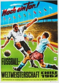 Original-vintage-poster-FOOTBALL-SOCCER-WC-CHILE-1962