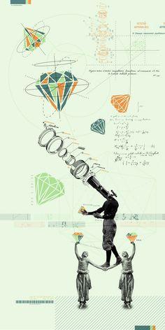 Jugglini, the Great by Kacper Kiec, via Behance
