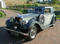 Alvis Silver Eagle Fixed Head Coupe  (1935)