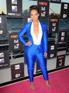 Alicia Keys she's gorgeous and I just love the confidence radiating here!