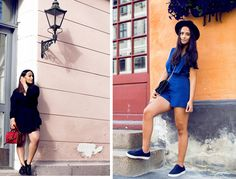 Welcome to my outlet for self expression. Street Style Blog, Blue Jumpsuits, Cute Hats, Summer Nights, How Beautiful, Girly, Sporty, Romantic, Women's