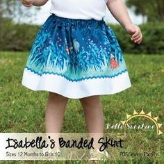 Isabella's Banded Skirt - Free - 12M-10