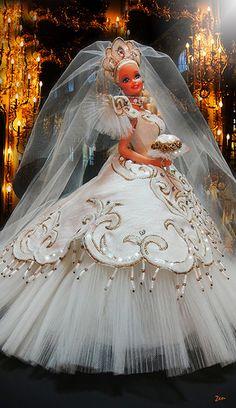 Empress Bride Barbie by Bob Mackie   Flickr - Photo Sharing!
