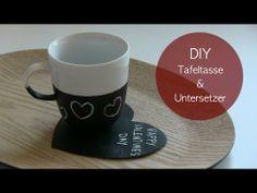 DIY Tafel-Tasse & Untersetzer