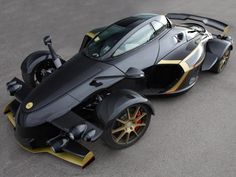 Tramontana Black Sports Car | repinned by www.BlickeDeeler.de | Follow us on www.facebook.com/blickedeeler